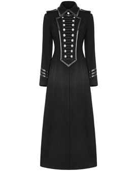 ericdress bouton mince pardessus long