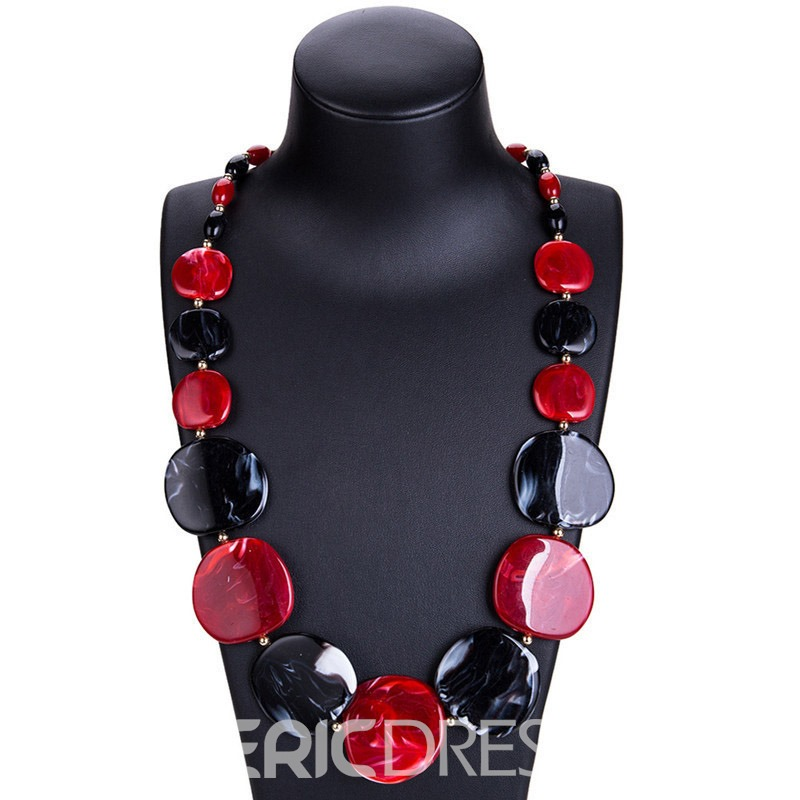 Ericdress E-Plating Acrylic Holiday Necklaces