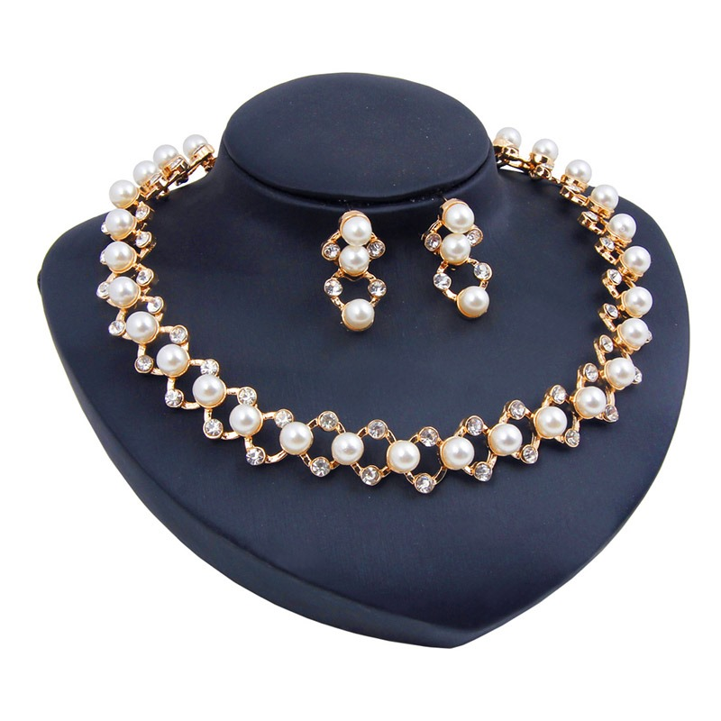 Ericdress Diamante Earrings Party Jewelry Sets