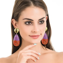 Ericdress Water Drop Plastic Anniversary Earrings