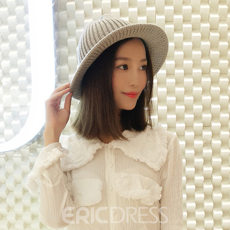 Ericdress Casual Acrylic Plain Fall Hats