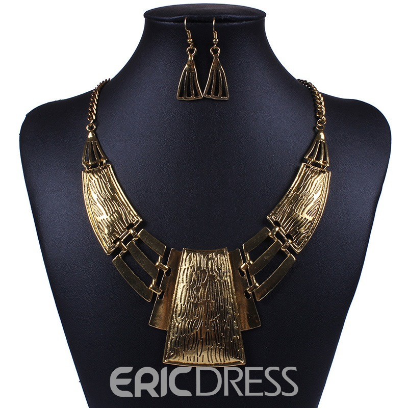 Ericdress Necklace E-Plating Anniversary Jewelry Sets