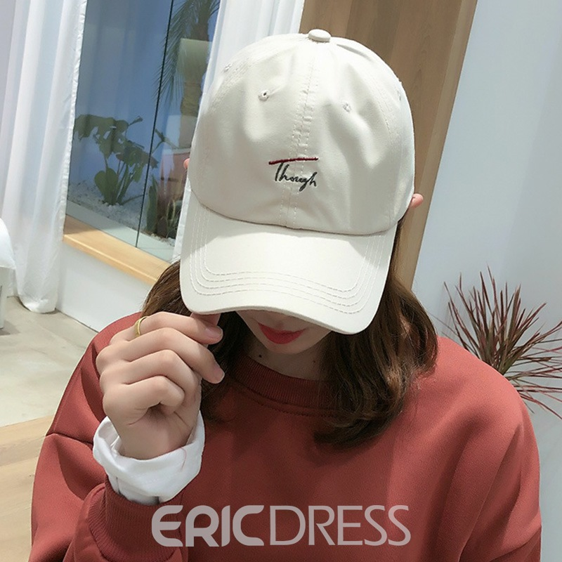 Ericdress Fashion Embroidery Winter Letter Hats