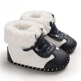 Ericdress PU Velcro Winter Toddler Shoes