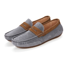 Ericdress Low-Cut Upper Slip-On Patchwork Round Toe Men's Shoes