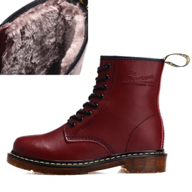 Ericdress Lace-Up Front Round Toe Men's Boots