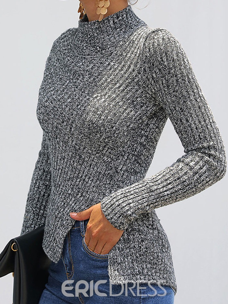 Ericdress Regular Thin Long Sleeve Fall Sweater