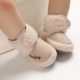 Ericdress Embroidery Winter Toddler Shoes
