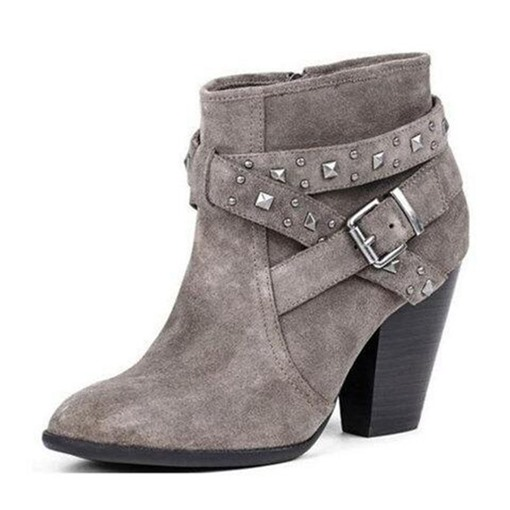 Ericdress Round Toe Plain Side Zipper Women's Ankle Boots
