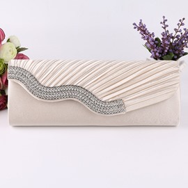 Ericdress Rectangle Satin Banquet Clutches & Evening Bags
