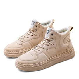 Ericdress High-Cut Upper Sports Lace-Up Round Toe Men's Sneakers