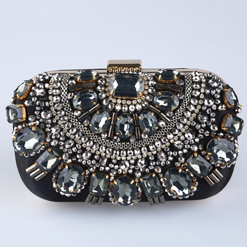 Ericdress Flap Banquet Rhinestone Clutches & Evening Bags