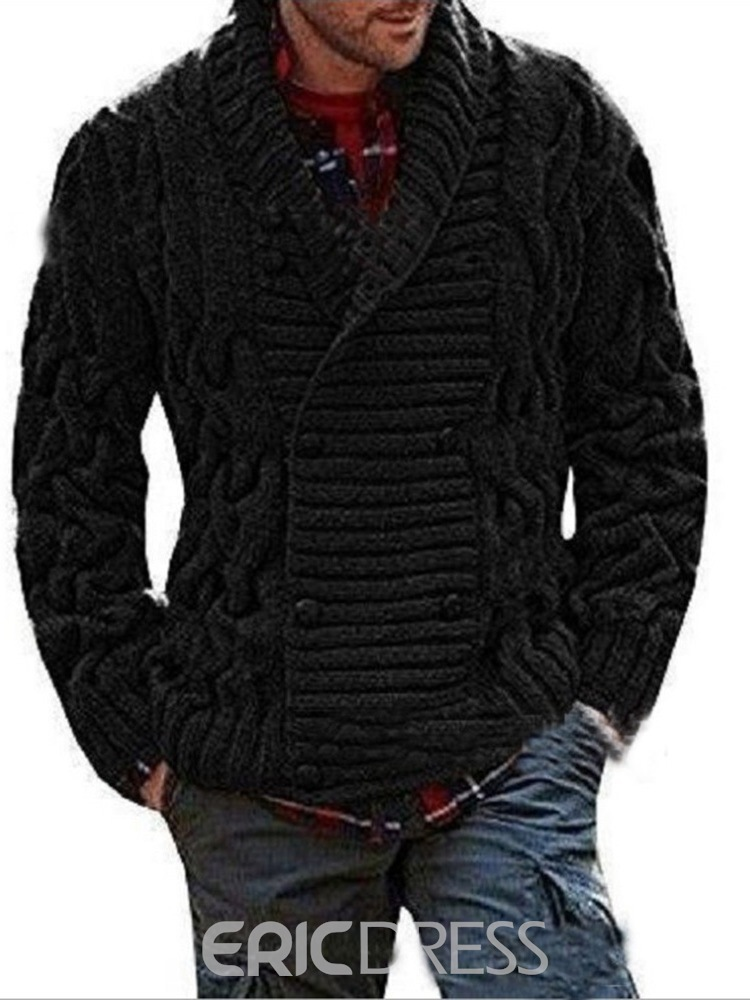 Ericdress Standard Plain European Men's Sweater
