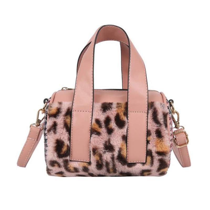 Ericdress Leopard PU Print Pillow Tote Bags