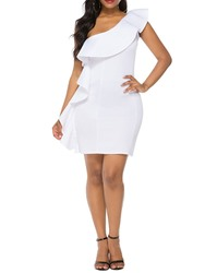 Ericdress Above Knee Stringy Selvedge Cap Sleeve Party/Cocktail Bodycon Dress фото