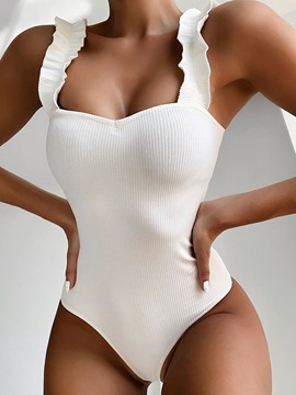 Ericdress Sexy Plain One Piece Fashion Swimwear