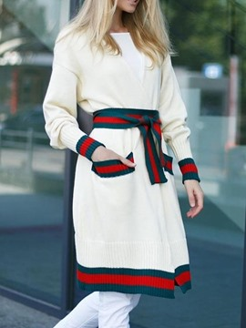 Ericdress Straight Long Sleeve Sweater