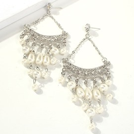 Ericdress Hollow Out Sweet Wedding Earrings