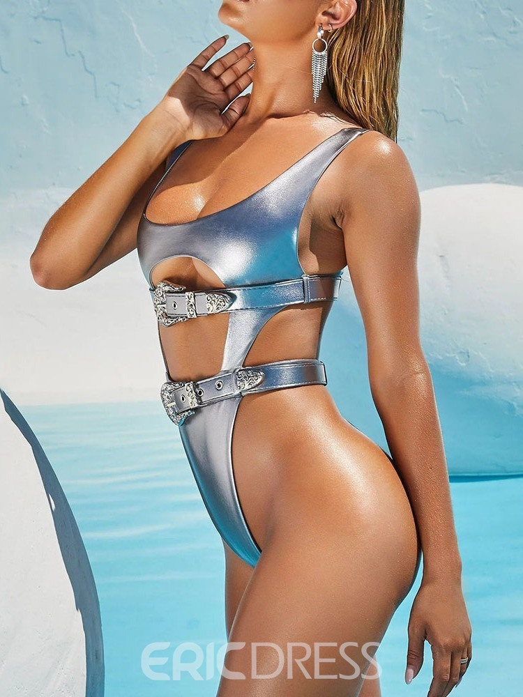 Ericdress Sexy Hollow One Piece Swimwear