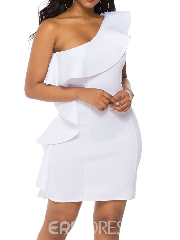 Ericdress Above Knee Stringy Selvedge Cap Sleeve Party/Cocktail Bodycon Dress
