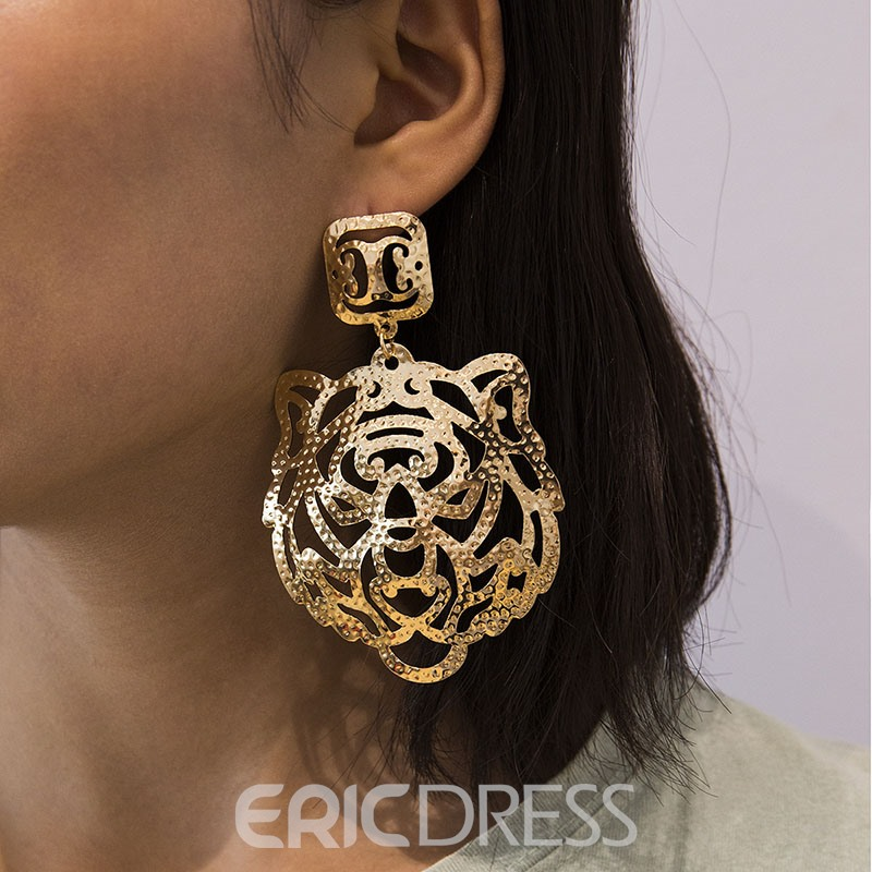 Ericdress Hollow Out Plain Gift Earrings
