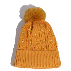 Ericdress Acrylic Plain Winter Knitted Hats