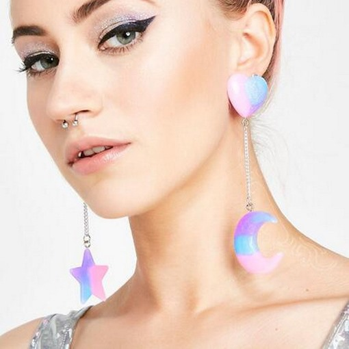 Ericdress Moon Wedding Earrings