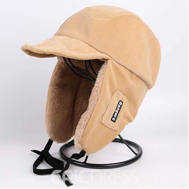 Ericdress Sewing Thread Bomber Hat