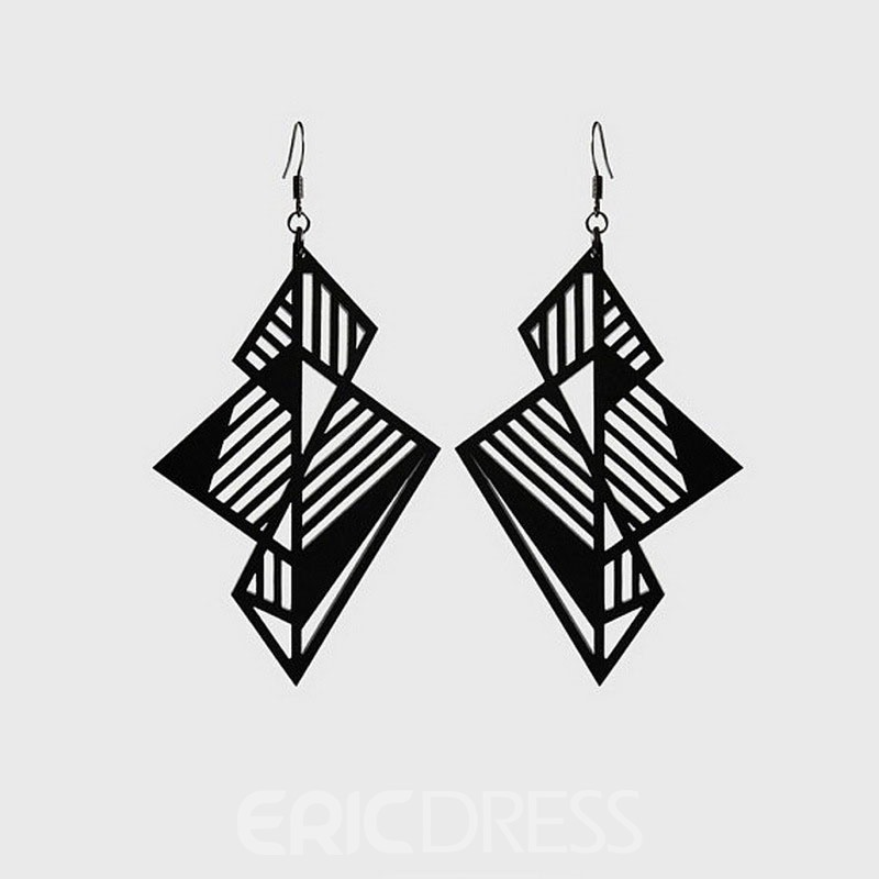 Ericdress Plain Hollow Out Anniversary Earrings