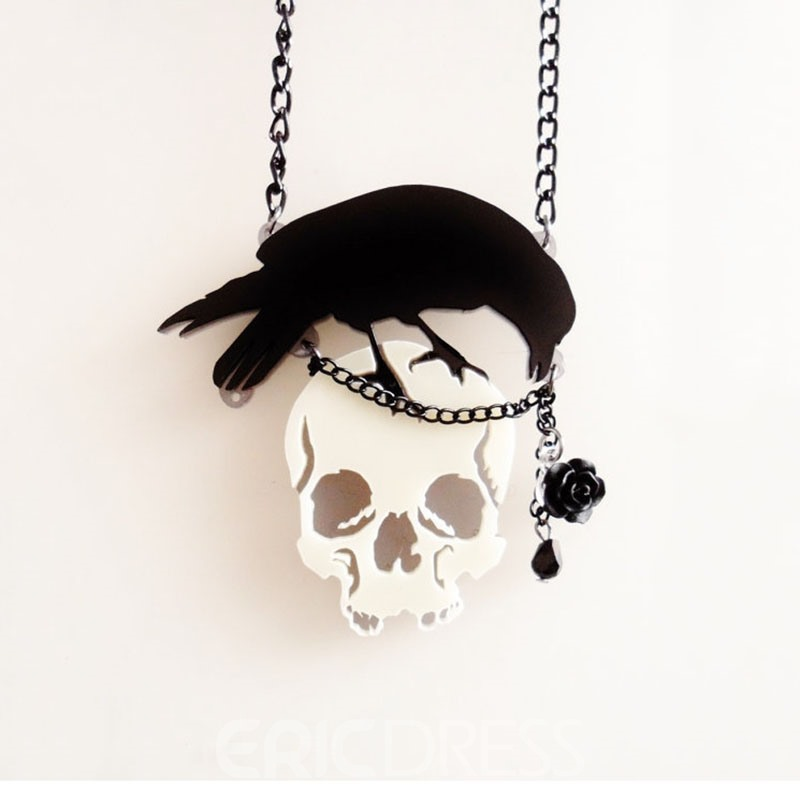 Ericdress Skull E-Plating Unisex Necklaces