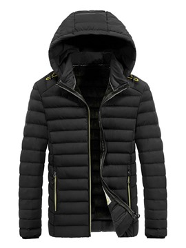 Ericdress Hooded Standard Casual Men's Down Jacket