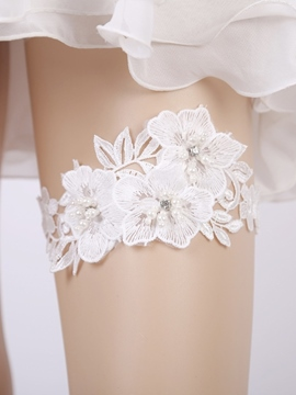 Ericdress Floral Embroidery Lace Garters