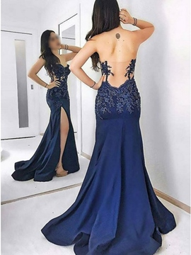 Ericdress Appliques Mermaid Evening Dress