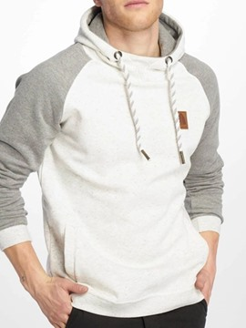 Ericdress Color Block Thick Pocket Loose Men's Hoodies