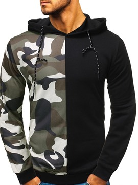 Ericdress Camouflage Pullover Fleece Men's Hoodies