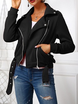 Ericdress Thin Long Sleeve Straight Regular Standard Jacket