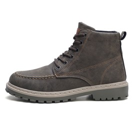 Ericdress Round Toe Color Block Lace-Up Front Men's Martin Boots