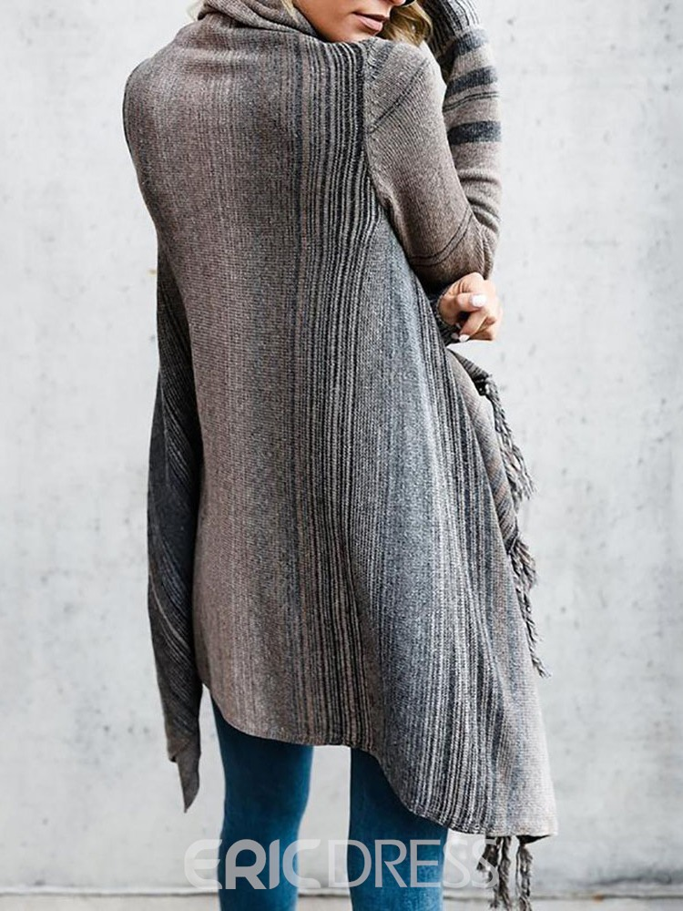Ericdress Thin Regular Long Sleeve Loose Sweater
