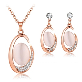 Earrings European Diamante Jewelry Sets (Wedding)