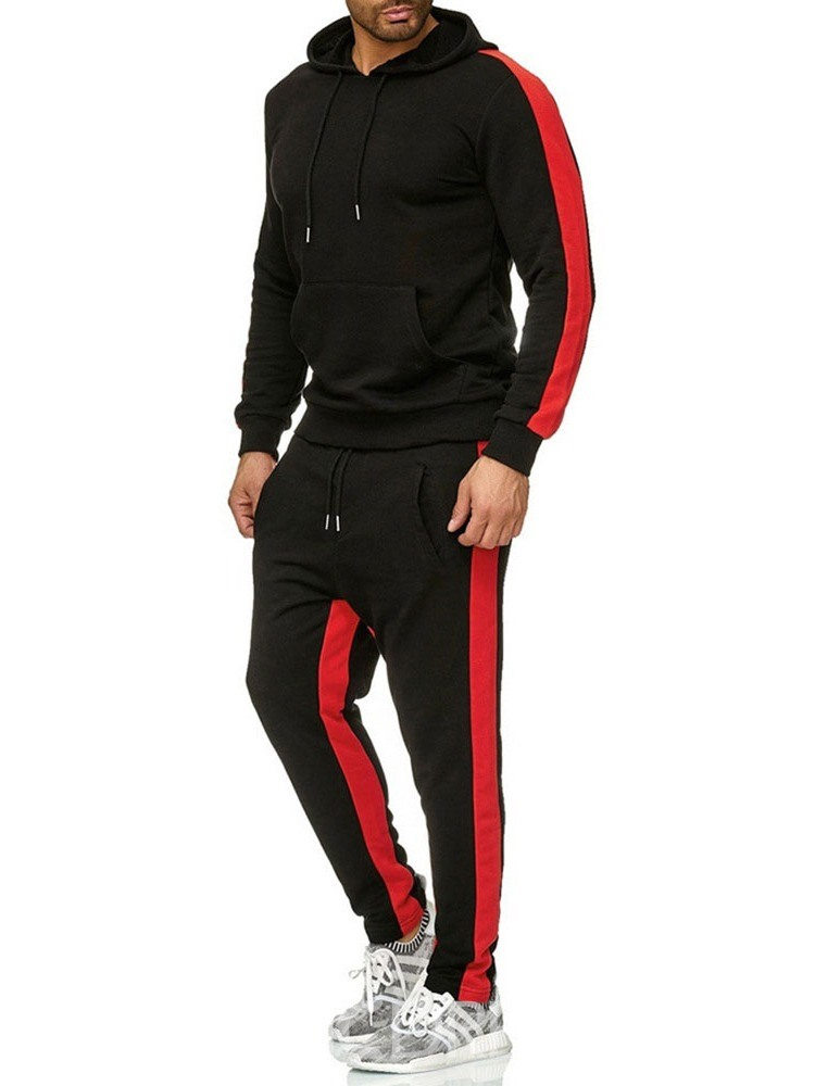 Ericdress European Hoodie Patchwork Men's Outfit