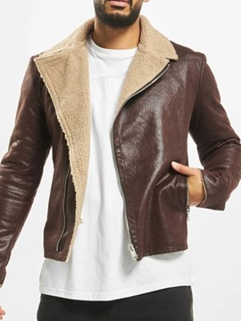 Ericdress Lapel Zipper Casual Men's Jacket