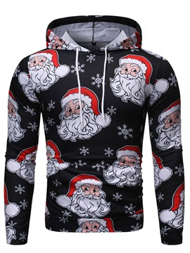 Ericdress Cartoon Pullover Print Men's Hoodies