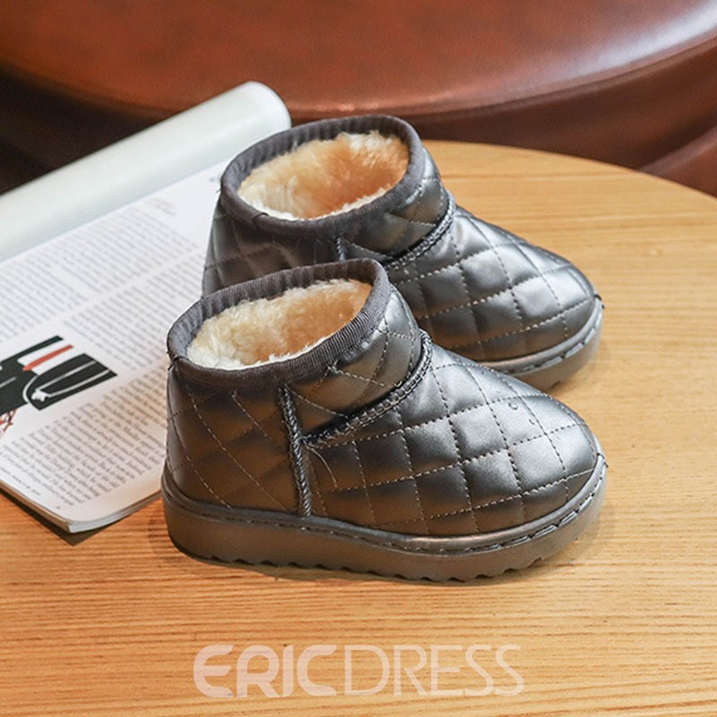 Ericdress PU Slip-On Baby Winter Boots