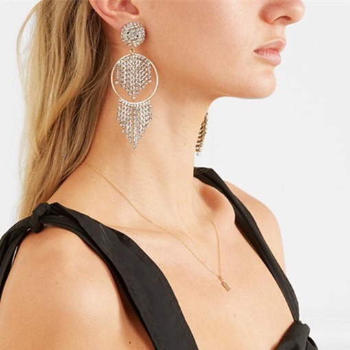 Ericdress Romantic Rhinestone Anniversary Earrings