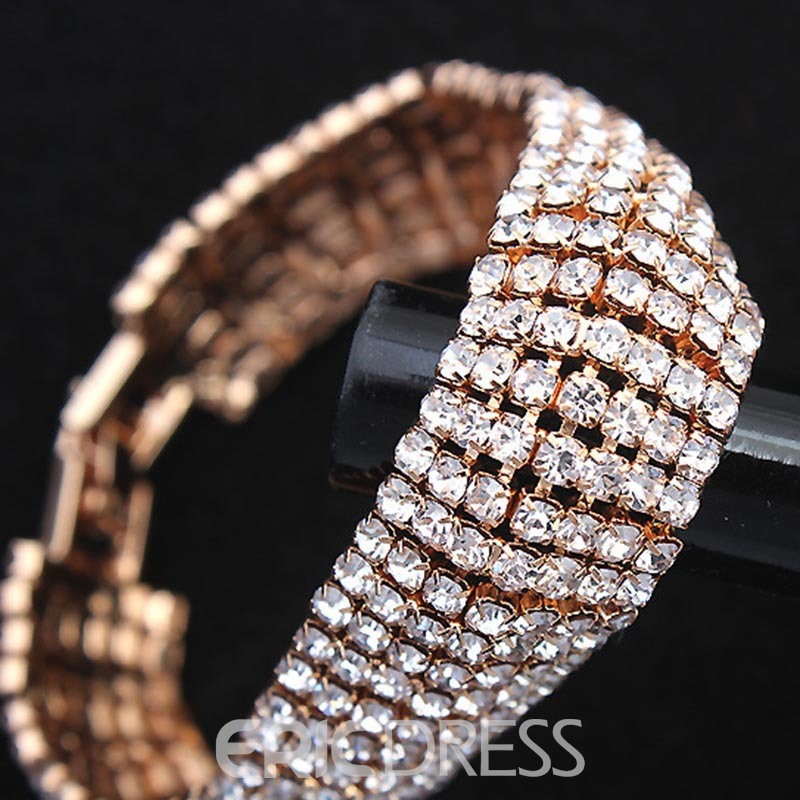 Ericdress Diamante Romantic Female Bracelets