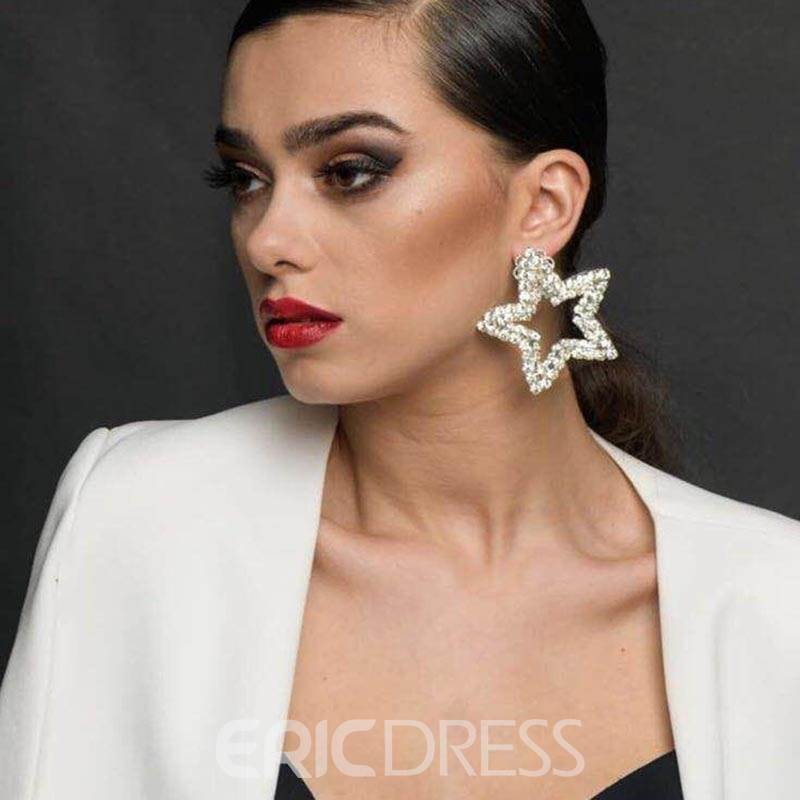 Ericdress Alloy Anniversary Drop Earrings