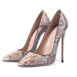 Ericdress Serpentine Pointed Toe Slip-On Stiletto Heel Women's Prom Shoes