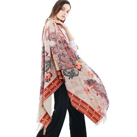 Ericdress Imitation Cashmere Shawl Scarves