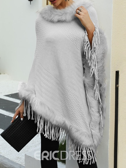 Ericdress Ethnic Polyester Plain Women's Cape