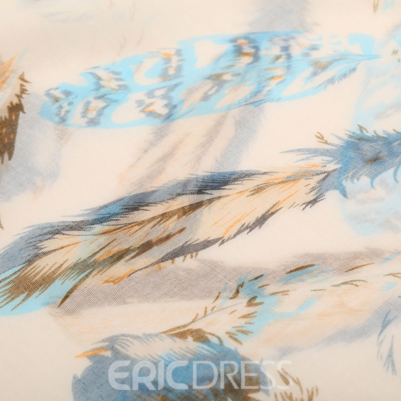 Ericdress Linen Rectangle Scarves